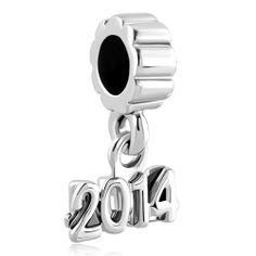 Spacer Dangle 2014 Memorial Graduation Year Silver Plated Beads Charms Bracelets Fit All Brands Pandora Graduation Charm, Graduation Year, Cheap Jewelry, All Brands, Girls Best Friend, Silver Plate, Dangles, Jewelry Design, Charmed