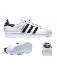 brand new 6f7a7 00c3d Adidas Originals Superstar Animal White and Black Sneakers Hot Sales