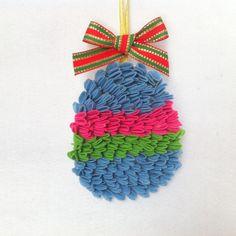 DIY Easter : DIY Easter Craft - Easter Egg Ornament