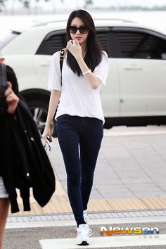 Girl's day Yura Airport Fashion | Official Korean Fashion