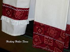 Hickery Holler Farm: New  DIY Dish Towels