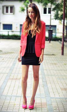 preppy | Style | Pinterest | Red blazer and Blazers