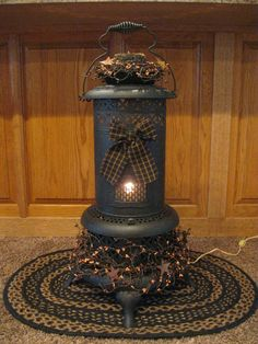 Primitive Oil Heater https://www.facebook.com/pages/Primitive-Country-Treasures/100991083354848