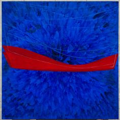 Tomie Ohtake, acrylic on canvas, 2008 Abstract Expressionism, Abstract Art, Brazil Art, Tomie Ohtake, All Art, Red And Blue, Drawings, Art History, Frames