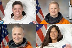 NASA has named its first commercial crew 'cadre' — the four astronauts who will train to fly aboard the first test flights of Boeing's CST-100 and SpaceX's Dragon spacecraft. The space agency assigned Bob Behnken, Eric Boe, Doug Hurley and Sunita Williams