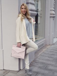 Pastel Coloured Layering for Spring - with a little Leo-Print-Love. New Look is up on the blog <3