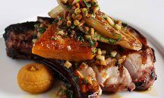 Braised lamb shank, smoked bacon and haricot bean ragout at Jason Atherton's Little Social in London, UK