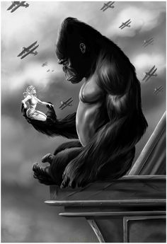 King Kong by Damon Bowie [©2016]