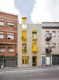 anna & eugeni bach build 'seven lives' residential building in barcelona Multi Story Building, Instagram