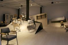 THEARTISTANDHISMODEL » Jean Prouvé Furnitures by G-Star RAW for Vitra
