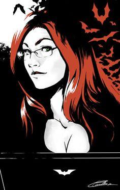 Barbara Gordon - Oracle & the Batgirl Comic Book Characters, Comic Character, Comic Books Art, Comic Art, Dc Batgirl, Batwoman, Nightwing, Batman Kunst, Batman Art