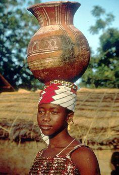 Zarma Woman from Niger. I lived in a Zarma village and spoke Zarma.