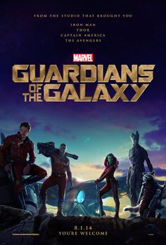 Marvel Studios has released the first teaser poster for 'Guardians of the Galaxy' and believes you should be thankful of its arrival.