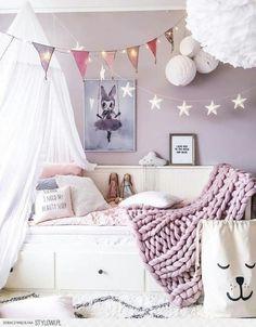 Lavender tween room