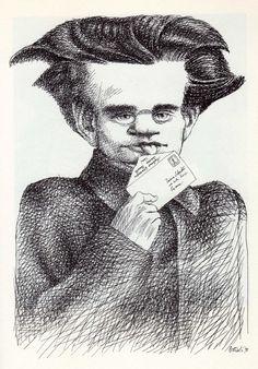 tullio pericoli | Tullio Pericoli Antonio Gramsci