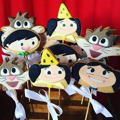 Bolachas Decoradas Show da Luna ~ #festashowdaluna #showdaluna #festascriativas #ideiasfestas #festameninas #showdalunaparty