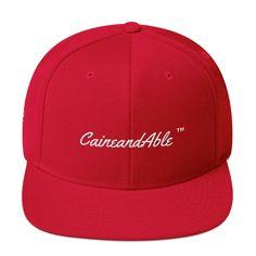 Written Snapback Hat