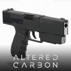 Altered Carbon - Ortega's Weapons, WETA WORKSHOP DESIGN STUDIO on ArtStation at https://www.artstation.com/artwork/1ybKG