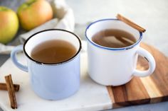 This tastes just like warm, cinnamon apple cider, but it's super healthy, serving to boost immunity, amp up digestion and heal your gut!