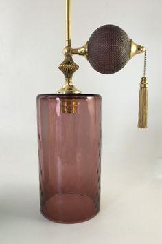Ted Baker Selfridges store glass perfume bottle pendants