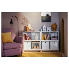 Latest Absolutely Free EKET Storage combination with legs - white - IKEA Style The IKEA Kallax collection Storage furniture is an important section of any home. They offer get a Ikea Eket, Ikea Kallax, Kallax Shelving Unit, Kallax Regal, Personal Storage, Design Moderne, New Furniture, Storage Spaces, Ikea Storage