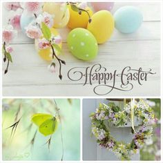 Happy Easter! #Moodboards #Mosaic #Collage by Jeetje♡