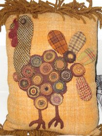 Penny Felt Rugs Cute Turkey