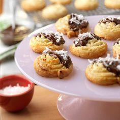Pepperidge Farm® Puff Pastry: Chocolate Coconut Cookies