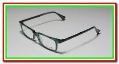 ORIGINAL ALAIN MIKLI 122 GREEN/BLACK PLASTIC/METAL SMALLER SHAPE WAYFARER RX-ABLE OPTICAL VISION PRESCRIPTION READY FULL-RIM STYLISH & MODERN EYEGLASSES/GLASSES/FRAMES - womens/mens/unisex by Alain Mikli. Save 80 Off!. $74.95. MSRP: $380.00. hard case: original. style: 122. size:  one size. color: 04 (striped green / black). You are looking at a pair of exclusive Alain Mikli eyeglasses. The glasses are 100% authentic.  This is one of the latest styles of this season. These eyeglas...