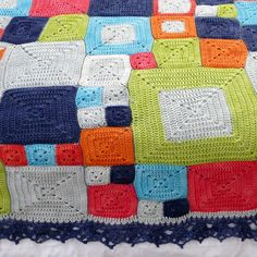 pigtails: Babette Style #Crochet Throw