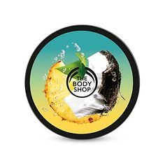 The Body Shop Pinita Colada Body Butter   About the Product--- Up to 24-hour moisture, Lightweight summer texture 100% vegetarian, 100% cruelty-free, With Pineapple and Coconut extract from the Caribbean. Tropical-crisp, fruity and fresh scent. Enriched with Community Trade Shea Butter & Brazil Nut Oil.