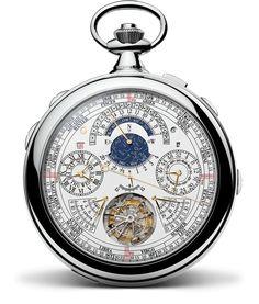 Vacheron Constantin presenta el reloj con más complicaciones jamás realizado. 57 complicaciones. El reloj Reference 57260 concretiza el sueño de un gran coleccionista y la voluntad de la Casa de sobrepasar sus límites. #57260 #vc260