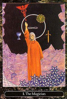 The Magician - Universal Tarot (Maxwell Miller)