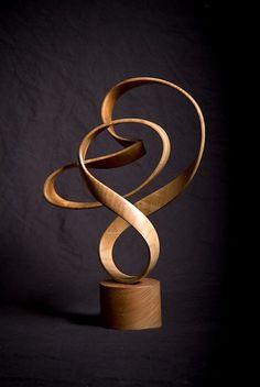 #Sculpture en #bois par John McAbery