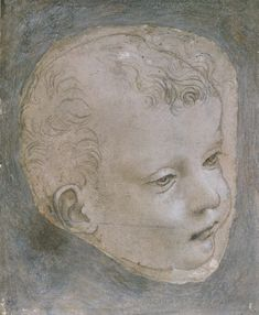 Leonardo da Vinci-Head of a Child #TuscanyAgriturismoGiratola