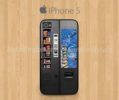 Vending Machine iPhone 5 Case by MetroEmporium on Etsy, $15.79