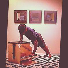 Night Sweats @PilatesDwell_Canton   Low Chair Exercise: Push Up Sideways II #latenightworkout #sweat #pushups • #pilates #pilatesstudio #pilatesinstructor #pilatesformen #pilatesmen #contrology #classicalpilates #calisthenics #gymnastics #yoga #fitness #fedora