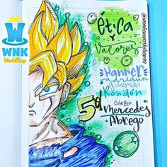 Dragon Ball, Tombow, Lettering, Origami, Art Drawings, Diy And Crafts, Doodles, Instagram, Bullet Journal