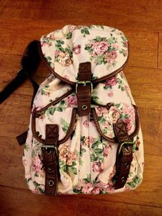 Aéropostale Polka Dot Floral Backpack | aeropostale | the latest ...