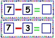 Tarjetas de sumas y restas para repasar Aprende sumas y restas en este divertido juego de tarjetas para plastificar y empezar a trabajar las matemáticas de