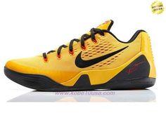 Discount Shoes Online Nike Kobe 9 EM XDR 653972-700 Yellow Mens-Womens 84c3e2877a