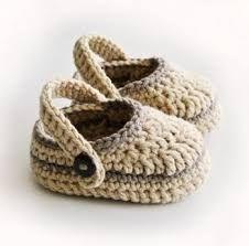 Resultado de imagen para tejidos de zapatitos de bebe