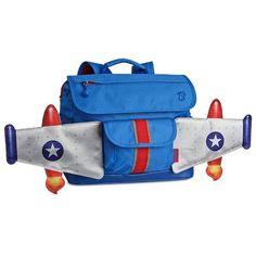 Bixbee Rocketflyer Backpack, Blue