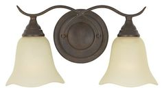 Murray Feiss VS10602-GBZ Two-Light Morningside Collection Vanity Strip, Grecian Bronze with Cream Snow Glass Shades by Murray Feiss. $52.20. Finish:Grecian Bronze, Glass:Cream Snow, Number of Lights:Two, Light Bulb:(2)100w A19 Med F Incand  Morningside Vanity.. Save 33%!