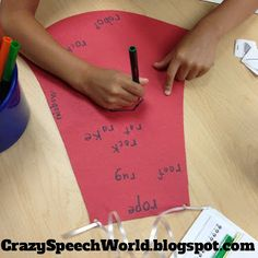 Crazy Speech World: Superhero Cape Craft-ivity!