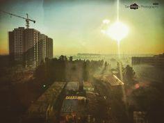 A View from 5th Floor #buildings #constructions #deepstudio #cisco #bengaluru #underconstruction #morning www.deep.studio