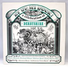 Celebration of DerbyShire EY UP MI DUCK 1978 Vinyl Record LP England Folk Music #TraditionalFolk