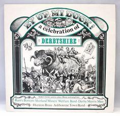 Celebration of DerbyShire EY UP MI DUCK 1978 Vinyl Record LP England Folk Music #TraditionalFolk