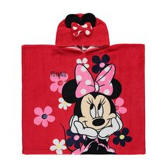 Disney Minnie Mouse Poncho Towel