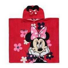 Disney Minnie Mouse Poncho Towel